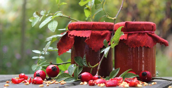 hagebutten marmelade selber machen rezepte mit hagebutten hagebutten fotos natur und freiheit. Black Bedroom Furniture Sets. Home Design Ideas