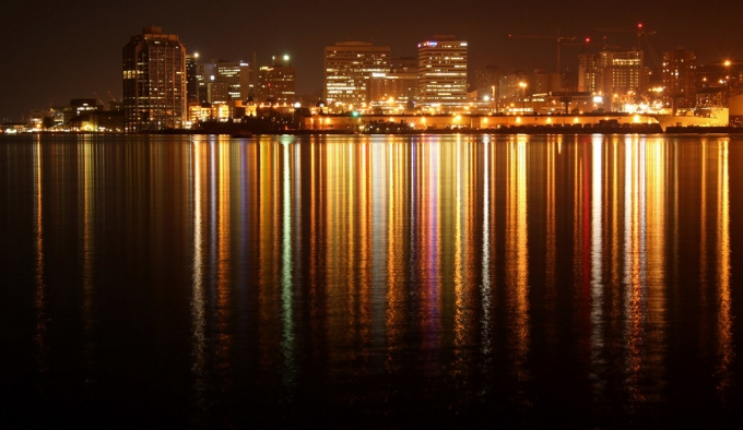 Halifax Downtown Skyline at Night